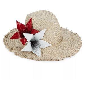 """Eugenia Kim """" Aiken"""" vintage floral hat 🌺🌺"""